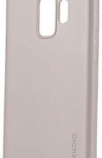Protectie Spate Meleovo Silicon Soft Slim MLVSSG960GD pentru Samsung Galaxy S9 G960 (Auriu)