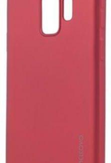 Protectie Spate Meleovo Silicon Soft Slim MLVSSG960RD pentru Samsung Galaxy S9 G960 (Rosu)