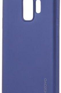 Protectie Spate Meleovo Silicon Soft Slim MLVSSG960BL pentru Samsung Galaxy S9 G960 (Albastru)