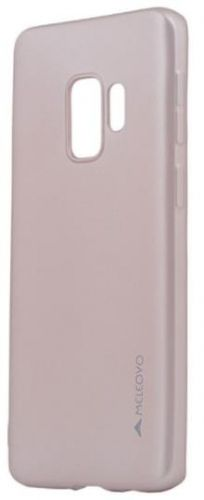 Protectie Spate Meleovo Silicon Soft Slim MLVSSG960RG pentru Samsung Galaxy S9 G960 (Rose Gold)