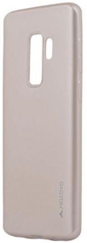 Protectie Spate Meleovo Silicon Soft Slim MLVSSG965GD pentru Samsung Galaxy S9 Plus G965 (Auriu)