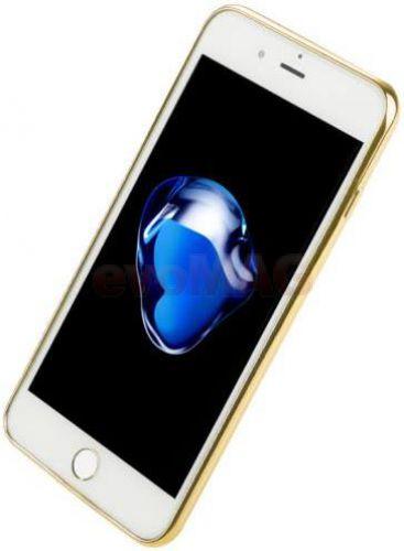 Protectie spate Benks Magic Glitz 6948005935771 pentru Apple iPhone 7 (Transparent/Auriu)