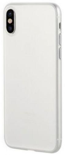 Protectie Spate Benks Lollipop 6948005941444 pentru iPhone X (Alb Transparent)