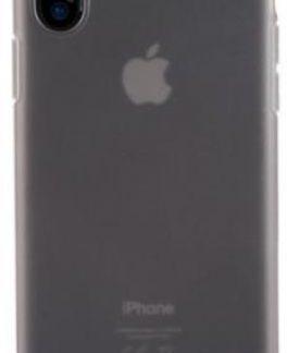 Protectie Spate Benks Pudding 6948005941376 pentru Apple iPhone X (Negru Transparent)