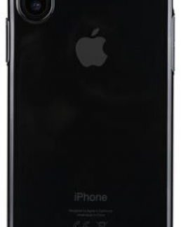 Protectie Spate Benks Electroplated 6948005941482 pentru Apple iPhone X (Negru)