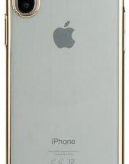 Protectie Spate Benks Electroplated 6948005941499 pentru Apple iPhone X (Transparent)