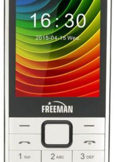 Telefon Mobil Freeman Speak T301, TFT 2.8inch, Bluetooth, Dual Sim (Alb)