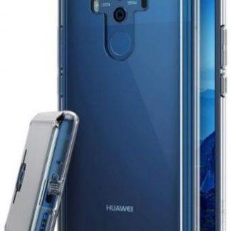 Protectie Spate Ringke Fusion Clear RK841091, margini flexibile antisoc, pentru Huawei Mate 10 Pro (Transparent)