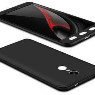 Protectie Spate GKK 360, 874155924487 pentru Xiaomi Redmi Note 4X (Negru)