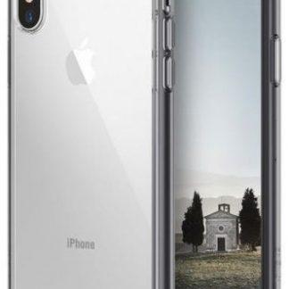 Protectie Spate Ringke Fusion Smoke, 8809550345591 pentru Apple iPhone X (Negru Transparent)