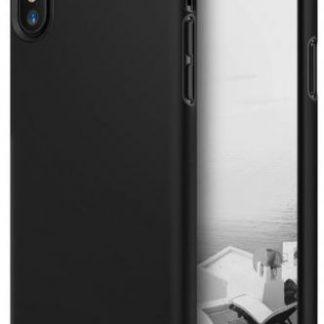 Protectie Spate Ringke Slim, 8809550345775 pentru Apple iPhone X (Negru)