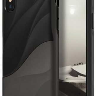 Protectie Spate Ringke Wave, 8809550346383 pentru Apple iPhone X (Negru/Gri)