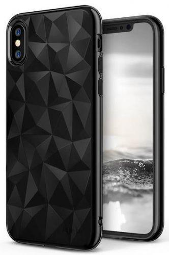 Protectie Spate Ringke Prism Ink, 8809550346086 pentru Apple iPhone X (Negru)