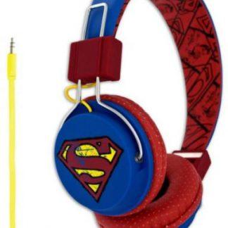 Casti Stereo Licensed DC0428, Superman – Vintage Teen, Jack 3.5mm (Multicolor)