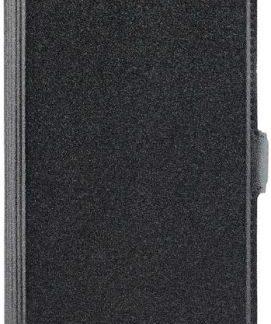 Husa Book Cover Star Pocket pentru Huawei P10 (Negru)