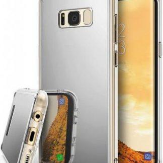 Protectie Spate Ringke Mirror pentru Samsung Galaxy S8 Plus (Argintiu)