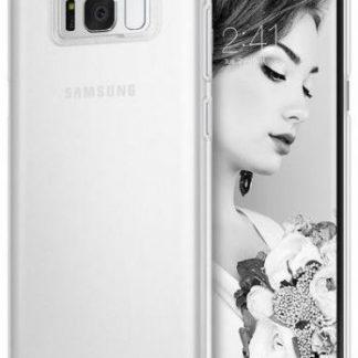 Protectie Spate Ringke Slim Frost pentru Samsung Galaxy S8 (Alb Transparent)