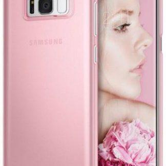 Protectie Spate Ringke Slim Frost pentru Samsung Galaxy S8 (Roz)