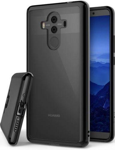 Protectie Spate Ringke Fusion Ink, margini flexibile antisoc, pentru Huawei Mate 10 Pro (Negru Transparent)