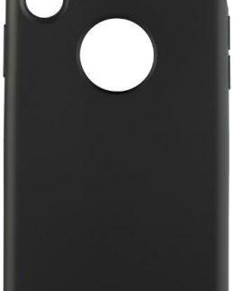 Protectie spate Star Painted pentru Apple iPhone X (Negru)