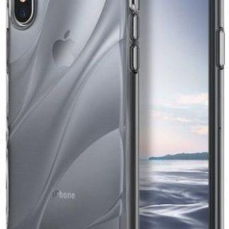 Protectie Spate Ringke Flow Clear, 8809550346178 pentru Apple iPhone X (Transparent)