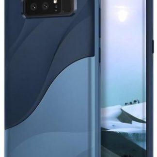 Protectie spate Ringke Wave Coastal Blue pentru Samsung Galaxy Note 8 (Albastru)