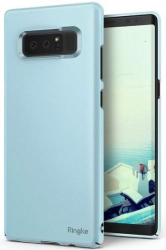 Protectie spate Ringke Slim Sky Blue pentru Samsung Galaxy Note 8 (Albastru deschis)