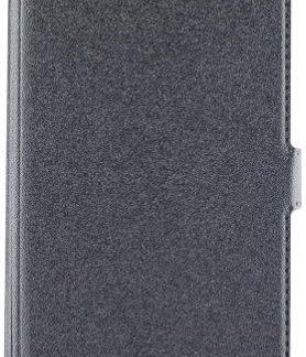 Husa Book Cover Star Pocket pentru Nokia 6 (Negru)