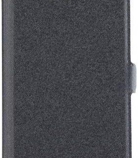 Husa Book Cover Star Pocket pentru Samsung Galaxy A8 2018 (Negru)