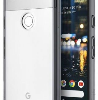 Protectie Spate Ringke Fusion Smoke Black pentru Google Pixel 2 (Fumuriu)
