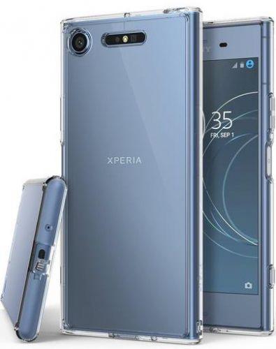 Protectie Spate Ringke Fusion Clear pentru Sony Xperia XZ1 (Transparent)