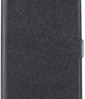 Husa Book Cover Star Pocket pentru Sony Xperia XZ Premium (Negru)