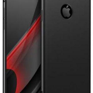 Protectie Spate GKK 360 Logo Cut pentru Apple iPhone 8 (Negru)