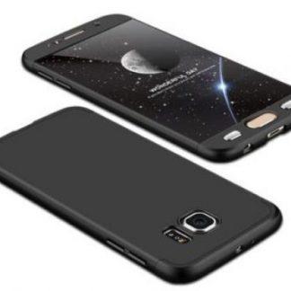Protectie Spate GKK 360 pentru Samsung Galaxy S6 (Negru)