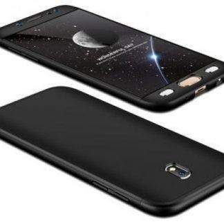 Protectie Spate GKK 360 pentru Samsung Galaxy J7 2017 (Negru)