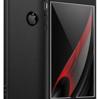 Protectie Spate GKK 360 Logo Cut pentru Apple iPhone 6/6S (Negru)