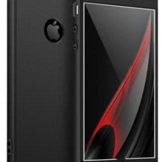 Protectie Spate GKK 360 Logo Cut pentru Apple iPhone 6 Plus / 6S Plus (Negru)