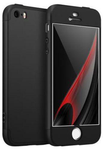 Protectie Spate GKK 360 pentru Apple iPhone 6 Plus / 6S Plus (Negru)