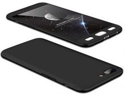 Protectie Spate GKK 360 pentru OnePlus 5 (Negru)