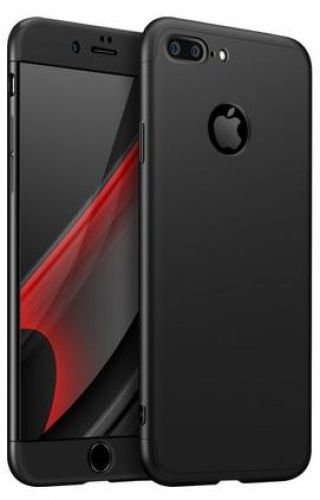 Protectie Spate GKK 360 Logo Cut pentru Apple iPhone 7 Plus (Negru)
