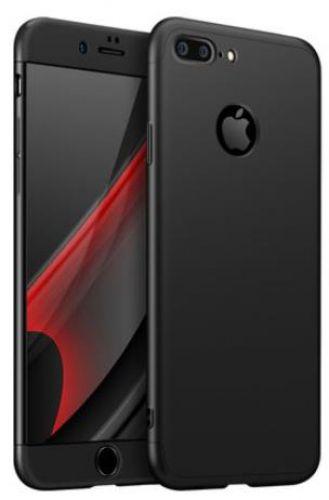 Protectie Spate GKK 360 Logo Cut pentru Apple iPhone 8 Plus (Negru)