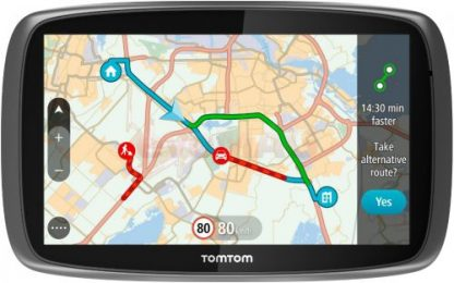 Sistem de navigatie TomTom GO 5100 World, Ecran Tactil 5inch, 8GB Flash, Actualizari pe viata a hartilor, Sim&Data, Harta Full Europa