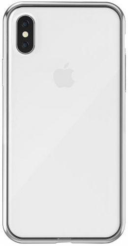 Protectie spate Star Top pentru Apple iPhone X (Argintiu)