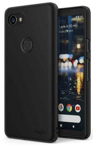 Protectie Spate Ringke Slim pentru Google Pixel 2 XL (Negru)