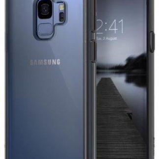 Protectie Spate Ringke Fusion pentru Samsung Galaxy S9 (Gri/Transparent)