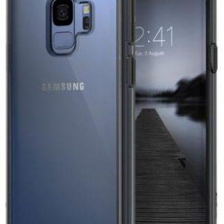 Protectie Spate Ringke Fusion pentru Samsung Galaxy S9 Plus (Gri/Transparent)