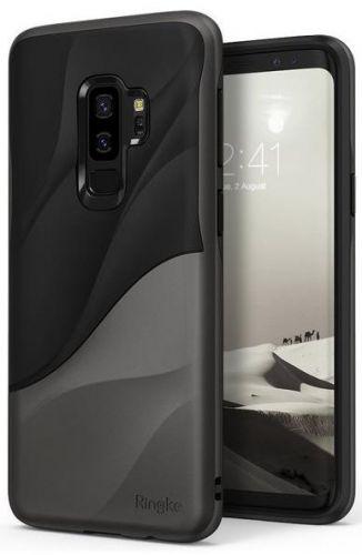 Protectie Spate Ringke Wave pentru Samsung Galaxy S9 Plus (Negru/Gri)
