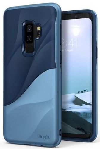 Protectie Spate Ringke Wave pentru Samsung Galaxy S9 Plus (Albastru)