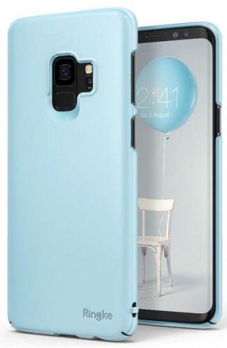 Protectie Spate Ringke Slim pentru Samsung Galaxy S9 (Albastru deschis)