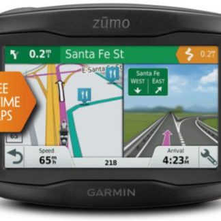 Sistem de navigatie Garmin Zumo 395LM dedicat Moto, Touchscreen 4.3inch, Harta Full Europa, Actualizari pe Viata a Hartilor